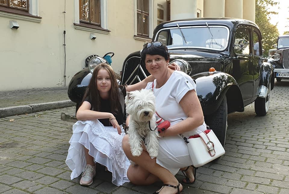 Herbatka u Zieleniewskich w Trzebini.