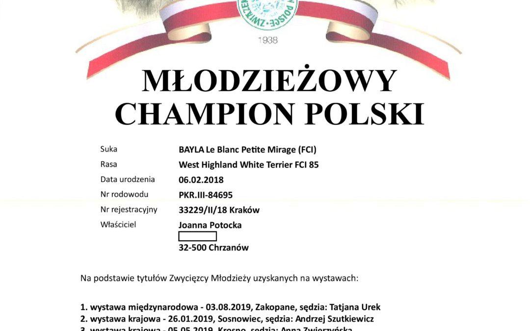 Młodzieżowy Champion Polski 😍